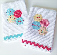 lovely little handmades: Kitchen Towels