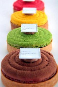 Multicoloured Tartes