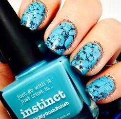piCture pOlish 'Turquoise Nails' featuring Instinct by OhMyGoshPolish!  Shop on-line www.picturepolish.com.au