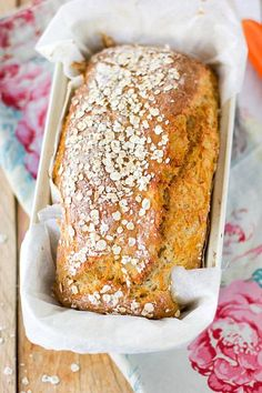 No Salt Recipes, Bread Recipes, Salty Foods, Daily Bread, Bread Baking, Food Inspiration, Banana Bread, Recipies, Clean Eating