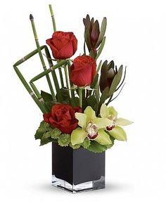 Contemporary Flower Arrangement