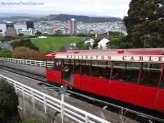 The Wellington Cable Car in New Zealand