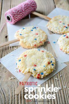 Sprinkle Cookies are