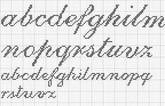 alphabet - broderie - cross stitch - Point de croix - Blog : http://broderiemimie44.canalblog.com/