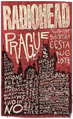 Radiohead Poster(s) - Bruce's Grafik Design