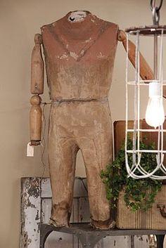 antique dress form, Brocante, déco brocante vintage industrielle, ancien mannequin couturière