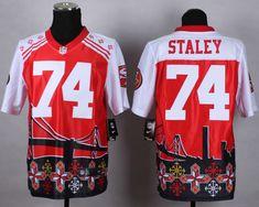 d9b86ba5a 2015 NFL San Francisco 49ers 74  Joe Staley Noble Fashion Elite Jerseys Nfl  49ers