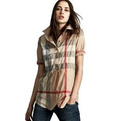 Burberry Brit Womens Tunic Small Classic Check