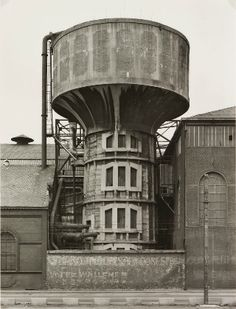 BERNT AND HILLA BECHER'S WATER TOWERS
