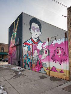 Graffiti artwork, street art utopia, street graffiti, new york street art. Stencil Graffiti, Graffiti Artwork, Street Art Utopia, Street Art Graffiti, New York Street Art, Art Gallery, Branding, Illustrations, Art Drawings
