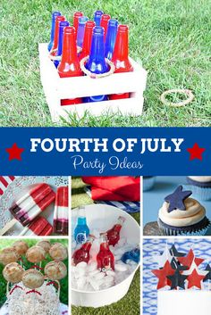 Recipes, games, decor and more for your Fourth of July party! >> http://www.hgtv.com/design/packages/fourth-of-july?soc=pinterest