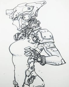 Finally able to draw after a very busy graduation week. – Art Drawing Tips Character Creation, Character Concept, Character Art, Character Design, Arte Cyberpunk, Cyberpunk 2077, Masakazu Katsura, Art Sketches, Art Drawings