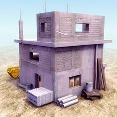 construction site 3d model - Google Search