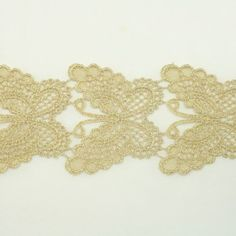 Gold Metallic Lace trim by the yard - Bridal wedding Lace Trim embroidery trim wedding fabric Millinery accent motif scrapbooking crafts lace for baby headband hair accessories dress bridal accessories by Annielov trim 125 ** Click on the image for additional details.