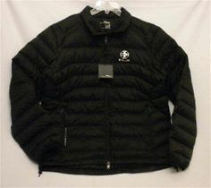 NWT Men XL RLX Ralph Lauren Black Down Lightweight Explorer Waterproof Jacket