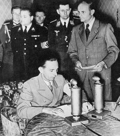 Joseph Goebbels announces Germany's invasion of Russia - June 22, 1941  Süddeutscher Verlag -Bilderdienst, Munich