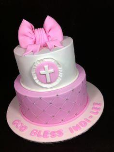 Cupcakes, Cupcake Cakes, Cupcake Ideas, Confirmation Cakes, Baptism Cakes, Comunion Cakes, Cherry Blossom Cake, Religious Cakes, Cake Boss