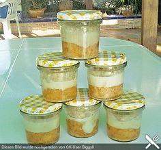 Knoblauchwurst im Glas
