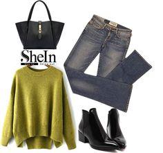 19 stylish ways to wear a green sweater