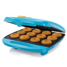 Enjoy fresh baked homemade donuts holes with the 12 pc. mini donut maker without frying.