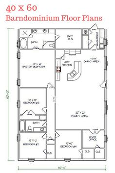 I really LOVE this floor plan. Texas Barndominiums, Texas Metal Homes, Texas Steel Homes, Texas Barn Homes, Barndominium Floor Plans                                                                                                                                                                                 More