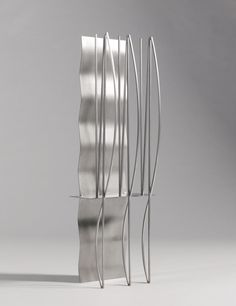 Fausto Melotti, Scultura N.14, 1935 (1968). Stainless steel Ed. 2/3 100 x 35 x 28 cm