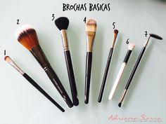 brochas para maquillaje, brochas basicas, maquillaje, kit brochas, makeup, makeuptips
