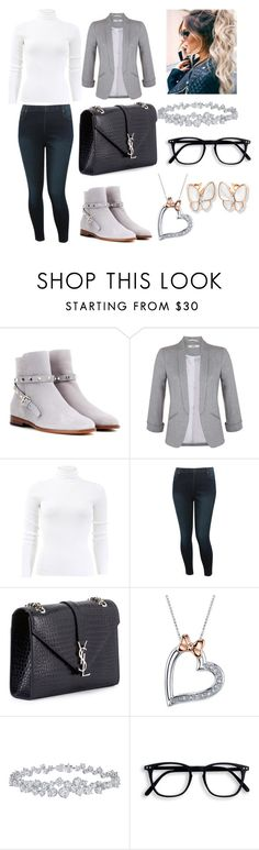 """""""untitled # 33"""" by happy13242 ❤ liked on Polyvore featuring Valentino, Miss Selfridge, Michael Kors, M&Co, Yves Saint Laurent, Disney and Harry Winston"""