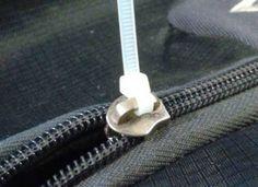Zip Tie for Broken Zipper 3 Simple Life Hacks, Plastic Problems, Pvc Pipe Crafts, Farm Layout, Diy Workbench, Bubble Wands, Cable Tie, Broken Zipper, Home Organization Hacks