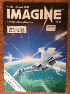 IMAGINE Magazine Issue 29 August 1985 TSR UK Dungeons & Dragons    eBay