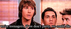 So wise. Big time rush and James Maslow