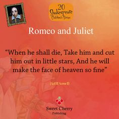lovely quote from Romeo & Juliet
