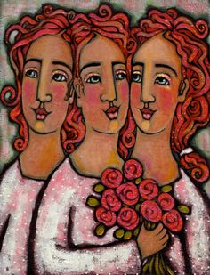Trio Bridesmaids, Julie-Ann Bowden