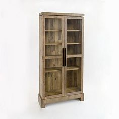 Door-ed bookcase for living room, dining room, or bedroom. Perfect storage