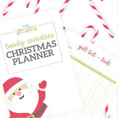 2017 Christmas Planner | The Organised Housewife Shop