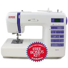 Amazon.com: Janome DC2014 Computerized Sewing Machine With Free Bonus Accessories!: Arts, Crafts & Sewing