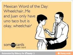 Wheelchair...
