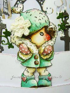 It's Cold Outside Tilda / Jane's Lovely Cards