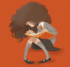 """pembroke: """"hermione for today's sketch_dailies """""""