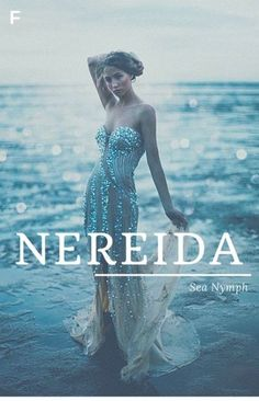 Nereida meaning Sea Nymph Greek names N baby girl names N baby names female names whimsical baby names baby girl names traditional names names that start with N strong baby names unique baby names feminine names nature names water names Baby Names 2018, Rare Baby Names, Unisex Baby Names, Cool Baby Names, Rare Female Names, Country Baby Names, Southern Baby Names, Southern Girls, Hippie Baby