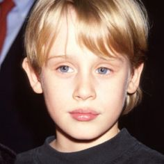 The Ethereal/Angelic essence is more obvious in this picture of a younger Macauley Culkin.