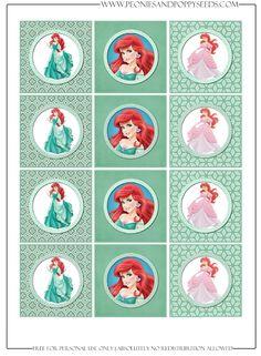 http://www.peoniesandpoppyseeds.com/2013/04/princess-ariel-birthday-party.html