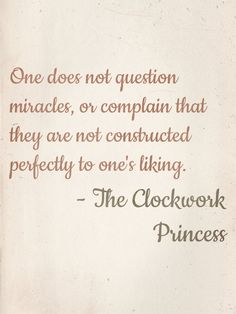 Clockwork Princess Tessa Gray Quotes