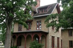 LeDuc Mansion, Minnesota: It is strongly suspected that the entity of General LeDuc, a restless man during life, is now a restless entity, puttering around his castle!  The entity of his devoted daughter, Alice, is thought to have stayed behind to keep watch over him, keeping him company. Doors have been known to open and close by themselves, sometimes slamming. Cold spots have been felt. Objects sometimes are moved around a room.