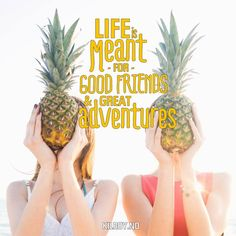 """""""Life is meant fro good friends & great adventures"""" #kilroy #travel #quote #quotes #inspiration"""