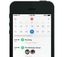 Smart calendar app Sunrise