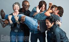 Actors from The Walking Dead. Love them all!!