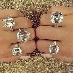 One of each please  #fblogger #fashioinspo #bling #luxury #luxelifestyle #diamond #ering