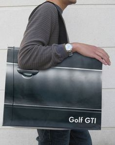 Golf GTI: Designer bag made by VW.  I think I should have one of these in white