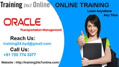 OTM ONLINE TRAINING @ Training24x7online  http://www.training24x7online.com/courses/oracle-applications/oracle-transportation-management-online-training.html  REACH US : +91 720 774 3377 / training24.hyd@gmail.com  #Training24x7online is an excellent Online Portal.We are providing #Online #Training on #Oracle #Transportation #Management (#OTM).Our #trainers have vast #experience in this field and they are highly qualified #software #professional with dedication towards training for OTM